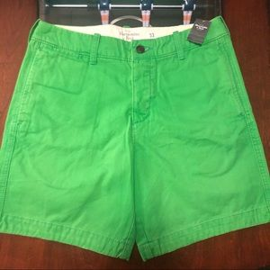 Green Abercrombie & Fitch Shorts — NWT
